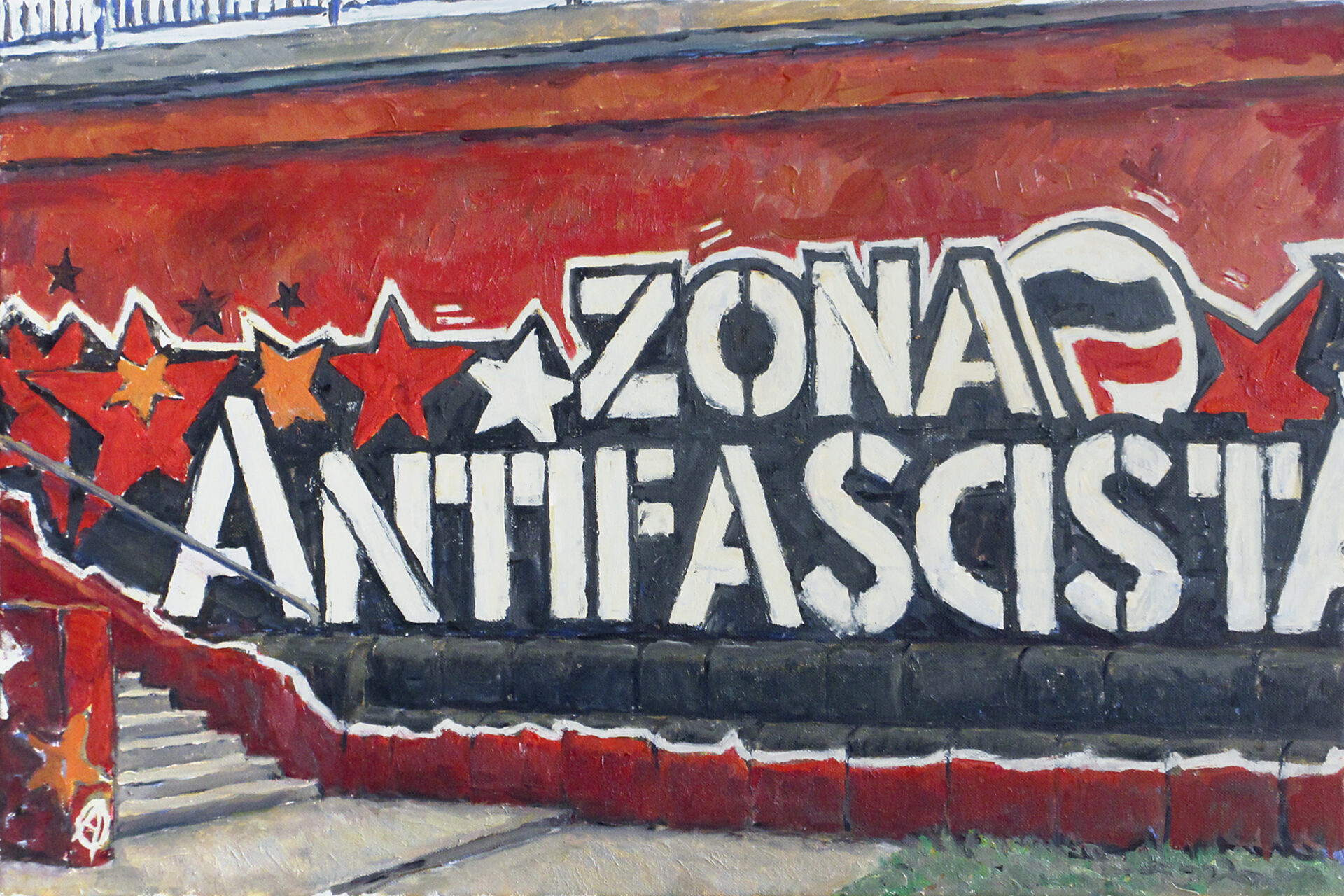 Wien Donaukanal, Zona Antifascista